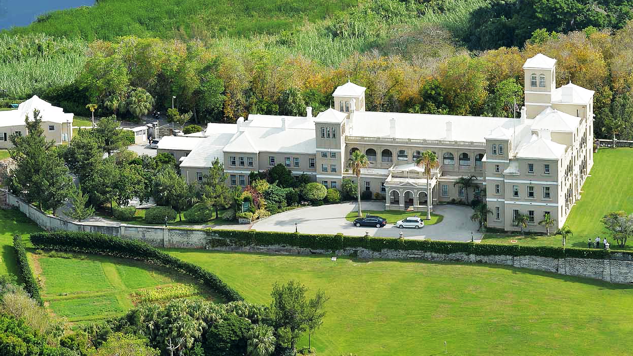 Government House in Bermuda