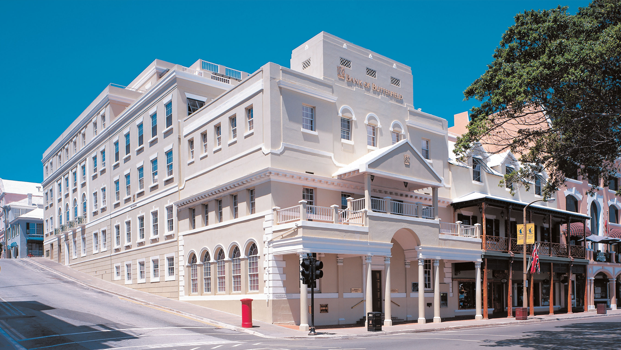 Bank of Butterfield in Bermuda
