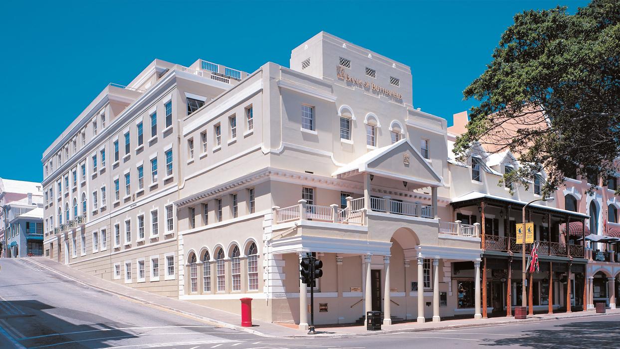 Bank of Butterfield in Bermuda